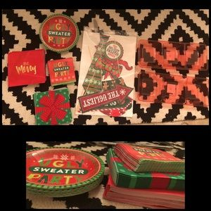 Christmas Ugly Sweater Unused Party Lot
